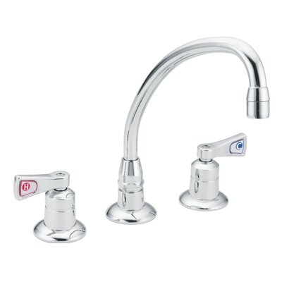 Moen M-Dura Double Handle Widespread Bathroom Faucet
