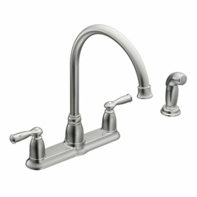 Moen Banbury Two Handle High Arc Kitchen Faucet