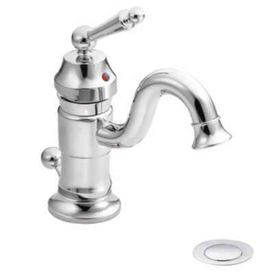 "Moen Waterhill 3"" x 9.44"" One-Handle High Arc Bathroom Faucet"