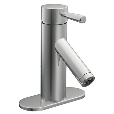 Lever Single Hole Bathroom Faucet with Single Handle - 6100