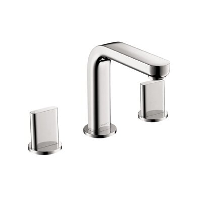 Hansgrohe Bathroom Faucets on Hansgrohe Metris Widespread Bathroom Faucet With Double Handles