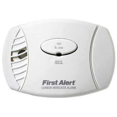 First Alert Plug In Carbon Monoxide Alarm with Battery Backup