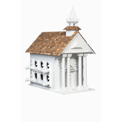 Home Bazaar Signature Series Town Hall Birdhouse