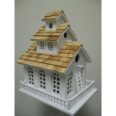 Home Bazaar Classic Series Chapel Bell Bird House