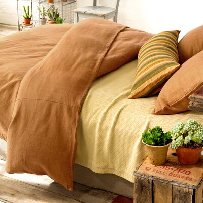 Pine Cone Hill Chambray Terracotta Duvet Cover Collection