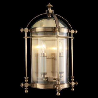 Fine Art Lamps Portsmouth 2 Light Outdoor Wall Lantern