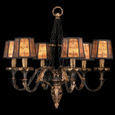 Fine Art Lamps Epicurean 6 Light Chandelier