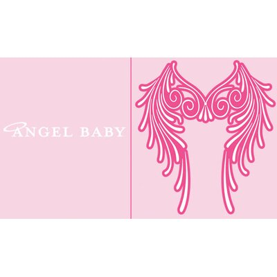 Redsnapper Angel Baby Wings Bodysuit For Girl in Pink