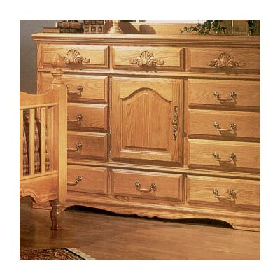 Bebe Furniture Country Heirloom 12 Drawer Oversized Dresser