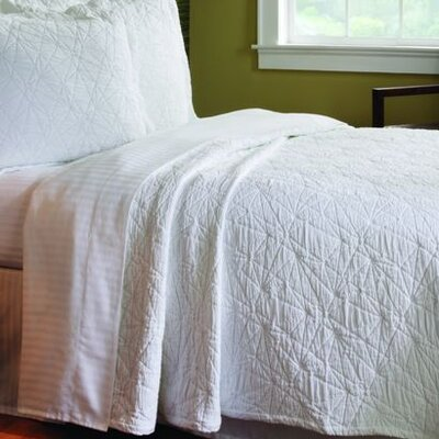 Caravelle Matelassé Season Stone Washed Coverlet