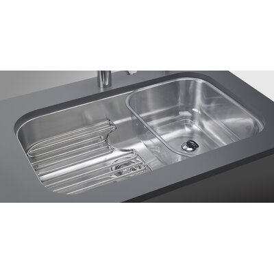 Franke Oceania Stainless Steel Undermount Kitchen Sink with Ledge