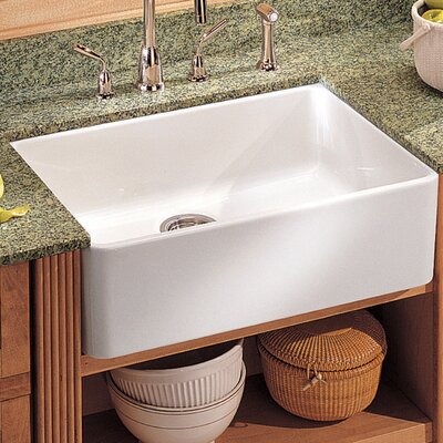 "Franke Manor House 20"" Fireclay Apron Front Kitchen Sink"