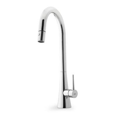 Franke Faucets Canada : Franke Contemporary Single Handle Single Hole Goose Neck Kitchen ...