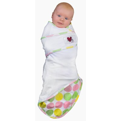 Snug and Tug Swaddle Blanket, Tickled Pink - Small