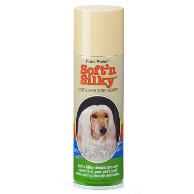 Four Paws Soft N Silky Coat and Skin Cond - 7 oz.