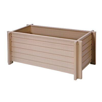 New Age Garden ecoFLEX Rectangular Planter