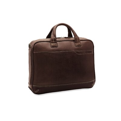 Johnston & Murphy Dividends Ultra Slimline Briefcase in Chestnut