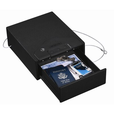 Stack-On Quick Access Drawer Safe with Electronic Lock