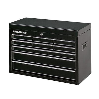 Stack-On 9 Drawer Top Chest with Ball Bearing Slide