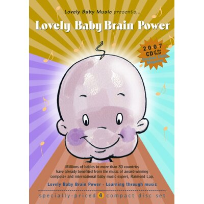 Lovely Baby Music Lovely Baby Brain Power CD (Set of 4)