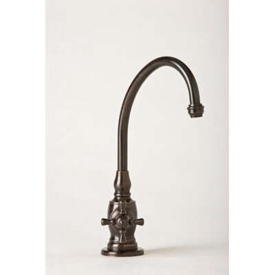 Hampton One Handle Single Hole Hot Water Dispenser Faucet with Cross Handle