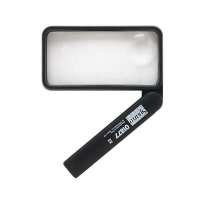 Sparco Products Sparco Rectangular Magnifier, Black