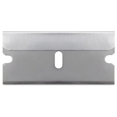 Sparco Products Single Edge Blade, Individually Wrapped, 100/BX, Silver
