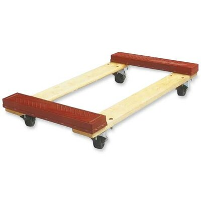 Sparco Products Cross member Dolly, 18&quot;x30&quot;x5-3/4&quot;, 1000 lb Capacity, Red