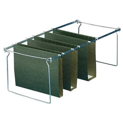 "Sparco Products Box Bottom Hanging File Folders, Legal, 25 per Box, Green, 1""-3"" Capacity"