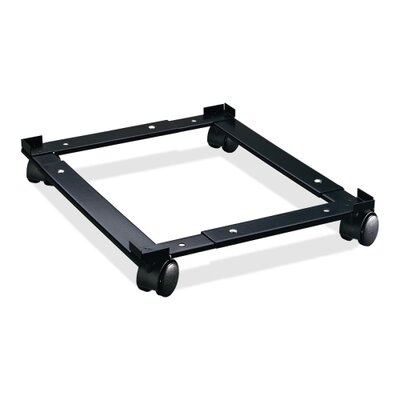 "Lorell File Caddy, Adjustable, 11-3/8""x16-5/8""x4"", Black"
