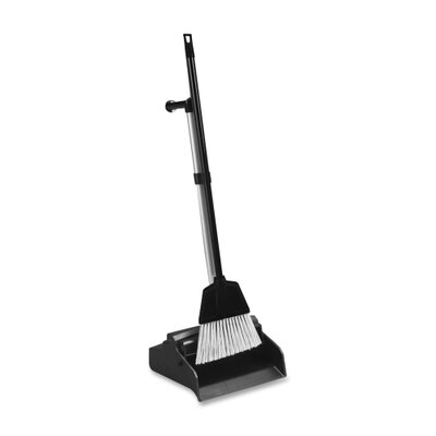 Genuine Joe Lobby Dust Pan and Broom Combo Kit