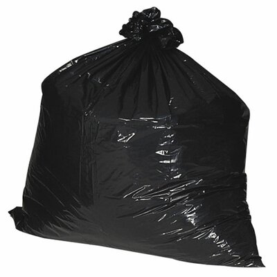 Nature Saver (100 per Carton) 56 Gallon Recycled Trash Bags, 1.8mil