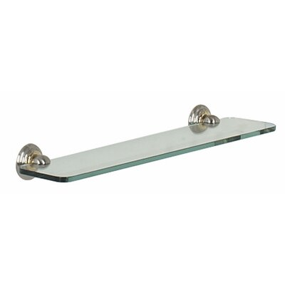 "Alno Inc Embassy 18"" Glass Shelf"