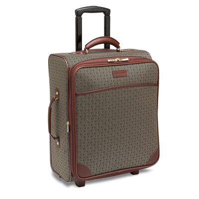"Hartmann Wings 20"" Expandable Mobile Traveler Wide in Cognac"