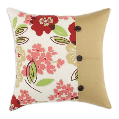 Chooty & Co Sydney Rainforest Hyannis Palomino Swirl Buttons KE  Polyester Pillow