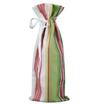 Chooty & Co Andari Stripe Wine Bag (Set of 2)
