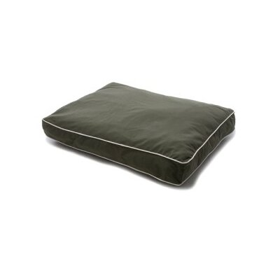 Dog Gone Smart Rectangular Dog Bed with Ecru Piping