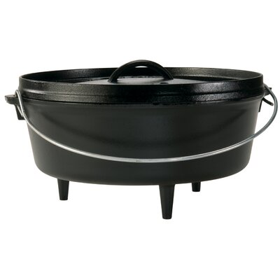 6-Qt Cast Iron Dutch Oven