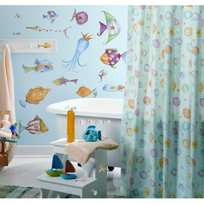 Room Mates Sea Creatures Peel and Stick Wall Sticker