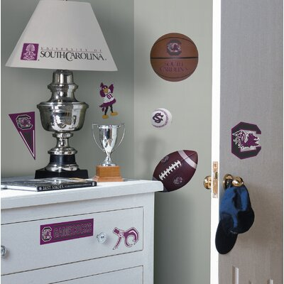 Room Mates South Carolina Gamecocks Peel and Stick Wall Decal
