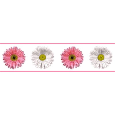 Flower Power Peel and Stick Wall Border
