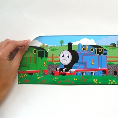 Room Mates Thomas and Friends Peel and Stick Wall Border