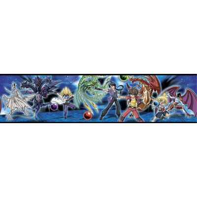 Room Mates Licensed Designs Bakugan Battle Brawlers Wall Border