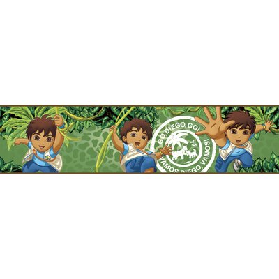 Room Mates Nickelodeon Go Diego Go! Wall Border