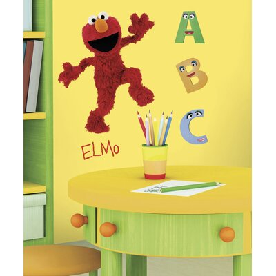 Room Mates Licensed Designs Sesame Street Elmo Giant Wall Decal