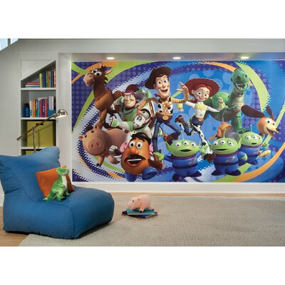 Room Mates XL Murals Toy Story 3 Wall Decal