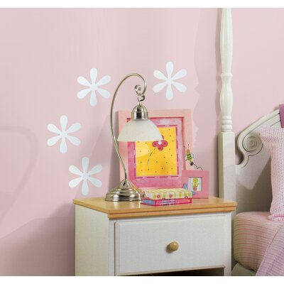 Room Mates Wall Mirrors Flower Peel and Stick Small Decal