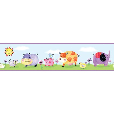 Studio Designs Polka Dot Piggy Wall Border