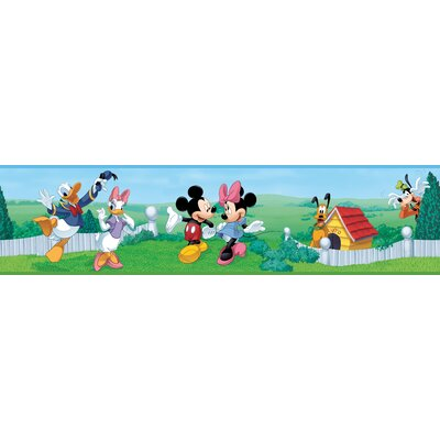 Room Mates Licensed Designs Mickey and Friends Wall Border