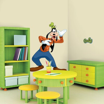 Room Mates Licensed Designs Goofy Peel and Stick Giant Wall Decal